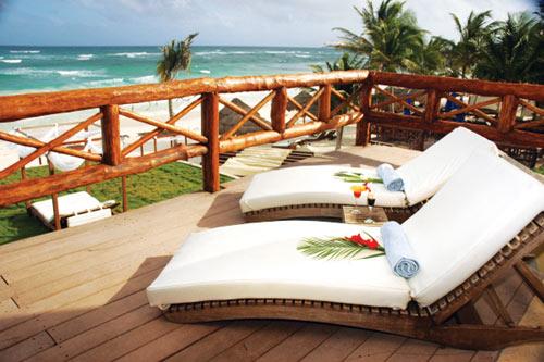 Los 10 hoteles m s rom nticos del caribe mexicano for Hoteles con habitaciones comunicadas playa