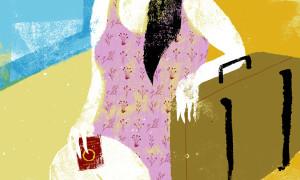 mujer viajera