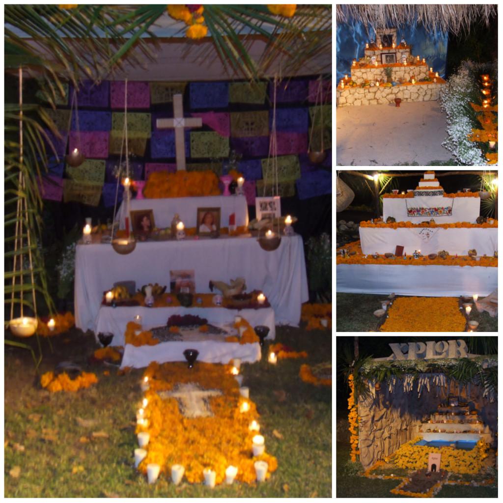altares de muertos