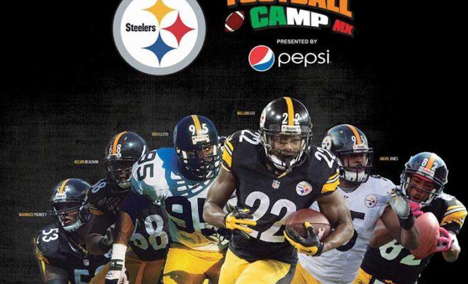 Steelers Football Camp en cancun