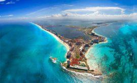 cancun vista aerea