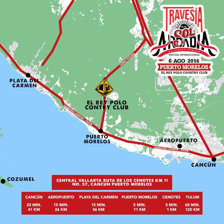 mapa arcadia puerto morelos