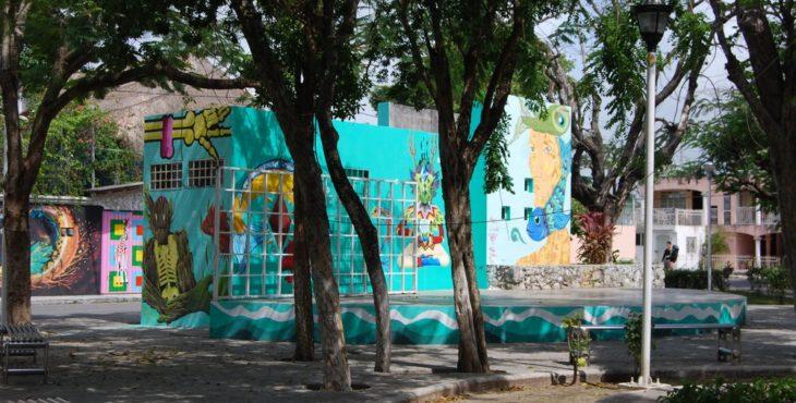 parque del pintor en cancun